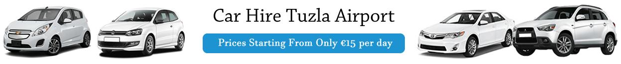 car hire tuzla airport